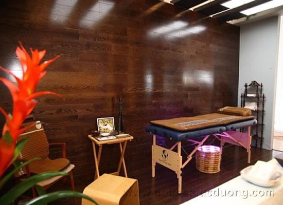 Phòng Spa nhỏ gọn hiện đại