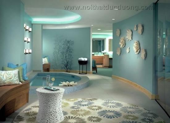 Design Spa lấy cảm hứng từ biển