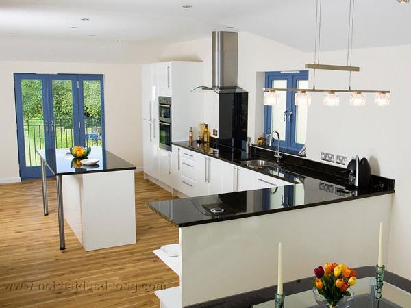Tủ bếp thông minh – sơn trắng 34
