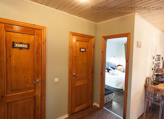 Cửa gỗ đẹp cho khách sạn