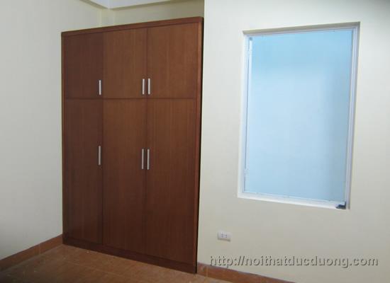 Dự án cửa gỗ, tủ áo nhà chú Thủy – Hà Đông