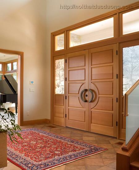 Cửa gỗ tự nhiên cao cấp – giá cạnh tranh
