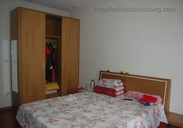 Giường ngủ gỗ veneer sồi 26
