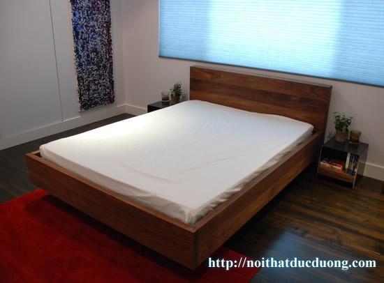Giường ngủ gỗ óc chó tự nhiên 27