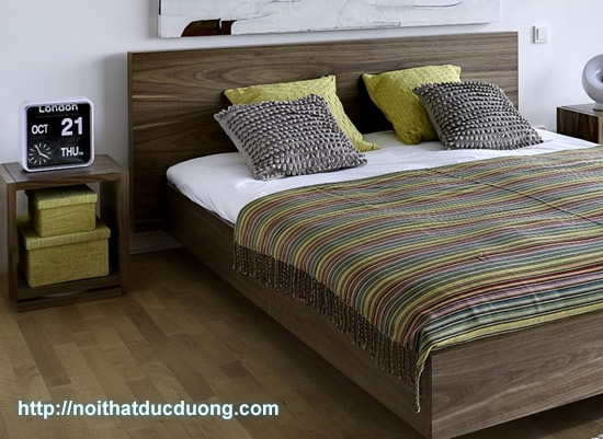 Nội thất gỗ óc chó tại căn hộ 1004 – Eurowindow
