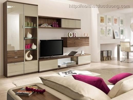 Cách thiết kế kệ tivi phù hợp với không gian phòng khách