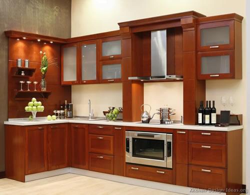 Đặc tính của tủ bếp gỗ xoan đào tự nhiên