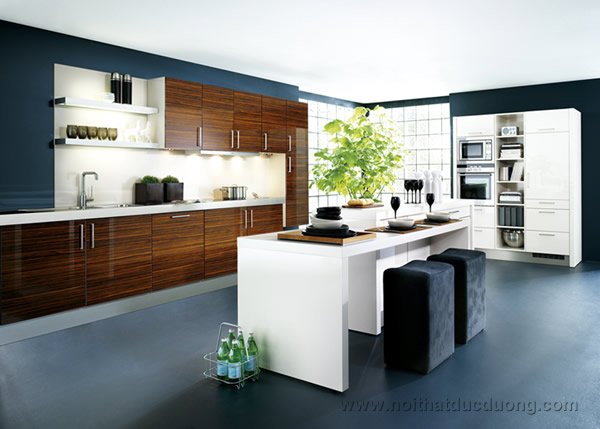 Tủ bếp laminate modul đơn khối 26