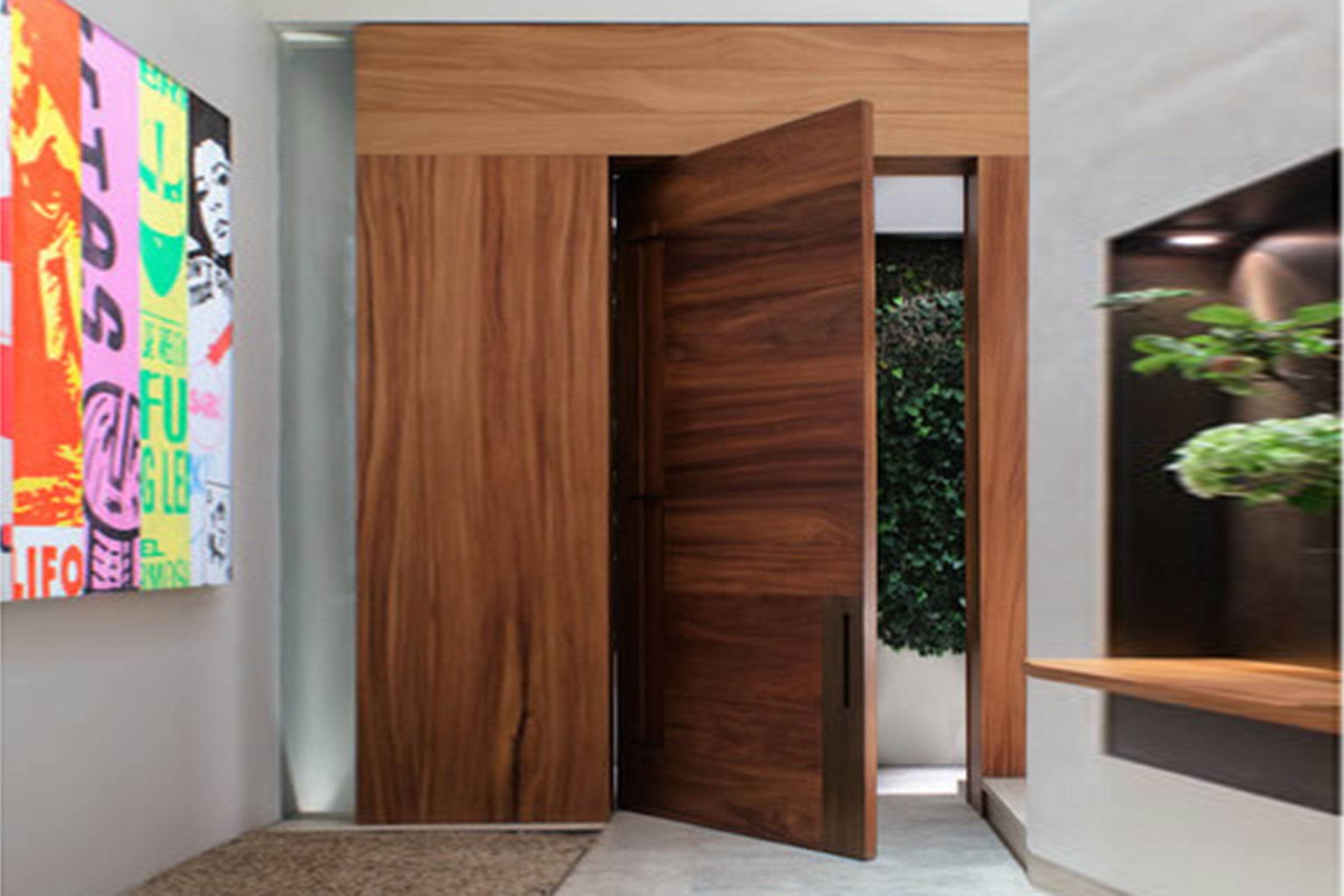 Cửa gỗ laminate vân gỗ đẹp 11