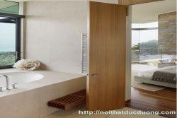 Cửa gỗ veneer sồi đẹp – M46