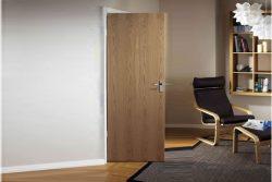 Cửa gỗ veneer sồi đẹp – M45