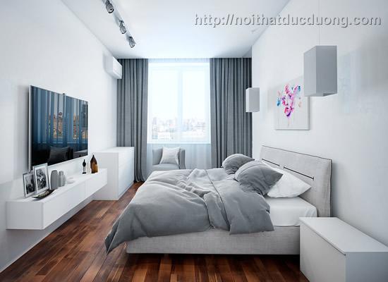 Thi công nội thất căn hộ 0708B2 – Mandarin Garden