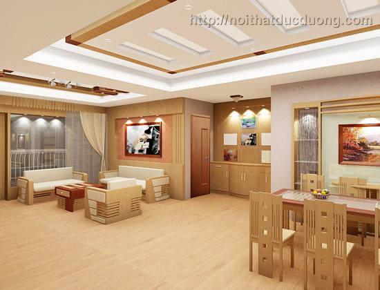 Thiết kế, thi công nội thất căn hộ 1113 B3 – Mandarin garden