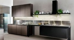 Tủ bếp laminate hiện đại – M52