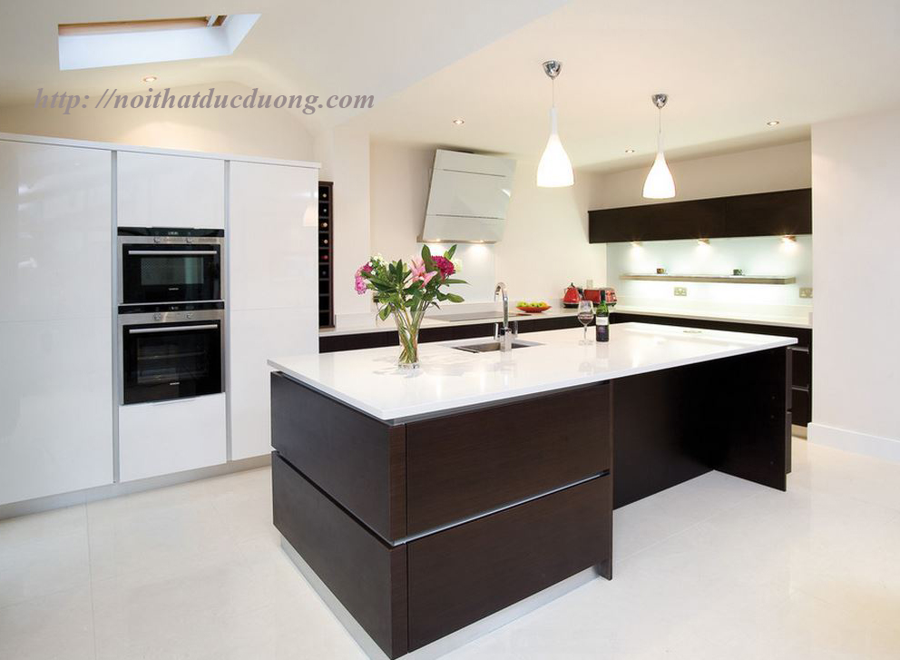 Tủ bếp gỗ Wenge – M54