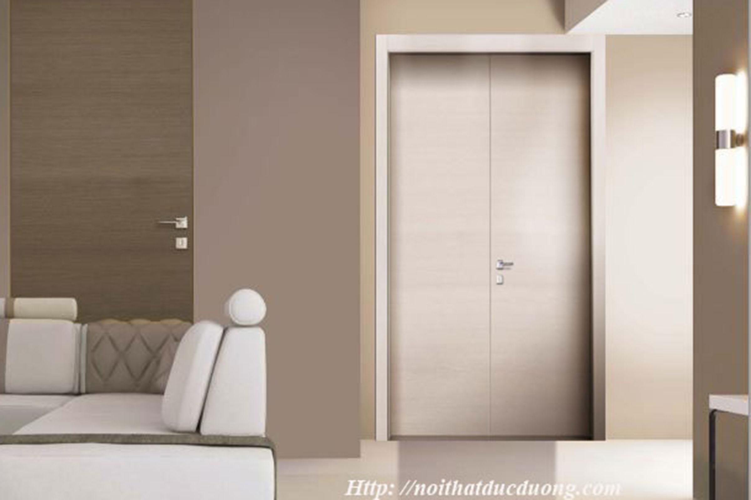 Cửa gỗ laminate – M15