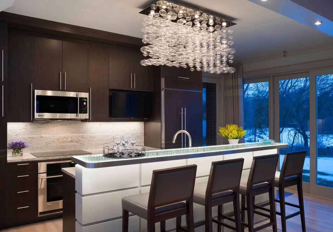 Tủ bếp gỗ laminate – M34