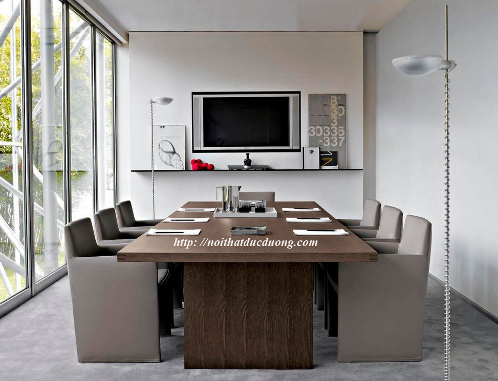 Bộ bàn ghế phòng họp hiện đại 16