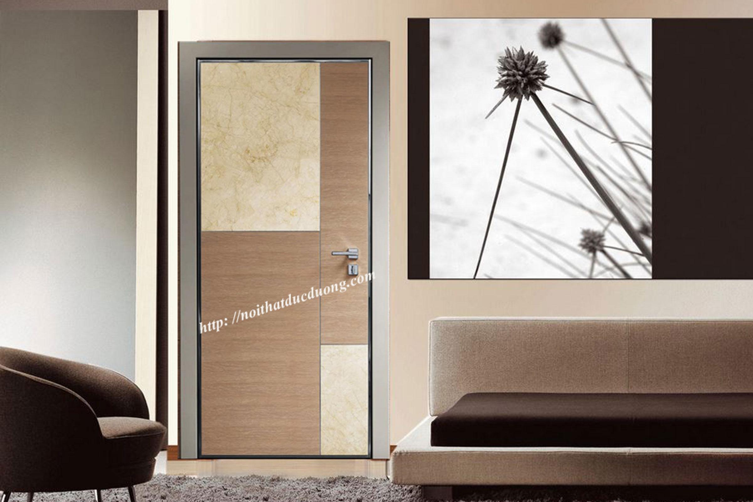 Cửa gỗ Laminate – M17
