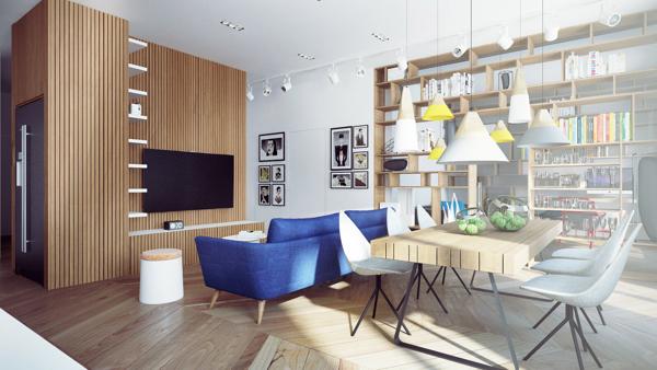 Nội thất phòng ăn – M1