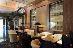 Thiết kế vách trang trí không gian bar-cafe trong khách sạn