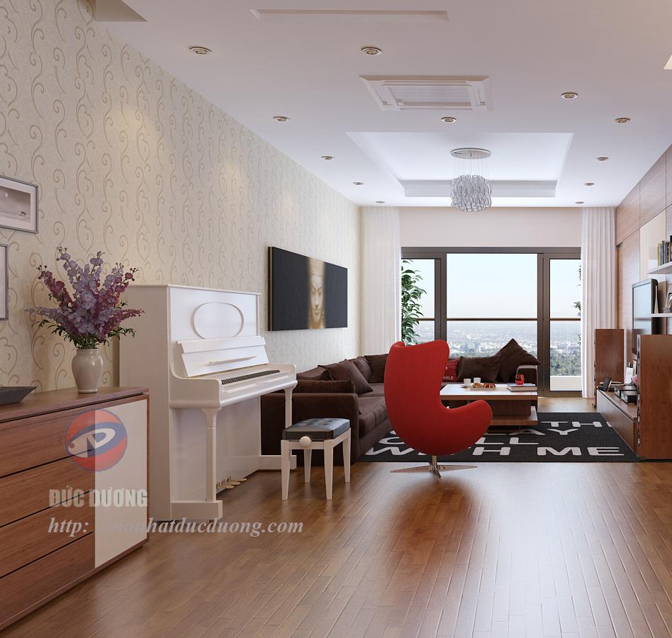 Tư vấn thiết kế, thi công nội thất căn hộ chú Trường- căn hộ Hòa Bình Green City 505 Minh Khai