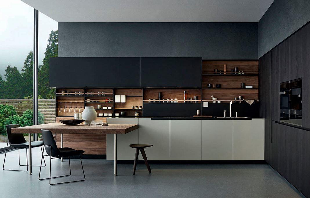 Tủ bếp cao cấp – M38