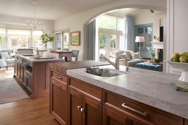 Tủ bếp cổ điển – M18