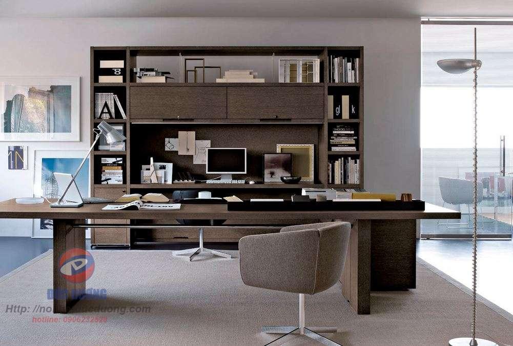 Tủ tài liệu kết hợp bàn làm việc