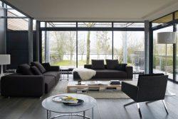 Nội thất phòng khách đẹp với sofa phong cách Ý