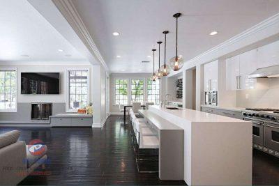 Say mê với thiết kế tủ bếp đơn giản, thanh lịch
