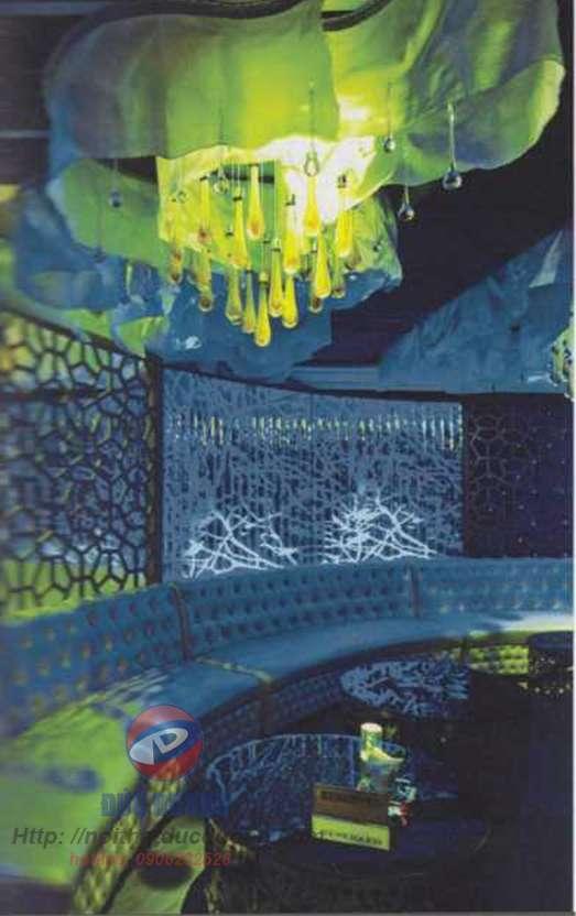 Trang trí nội thất quán bar độc đáo ở EVA LOUNGE, Nha Trang
