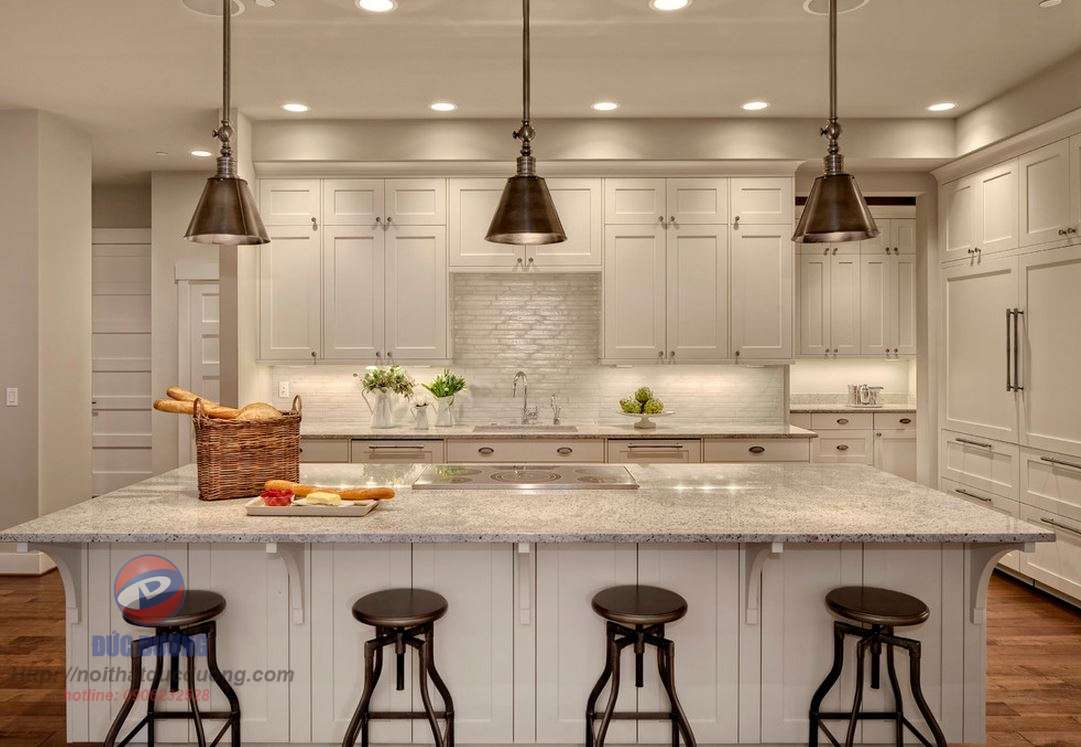 Tủ bếp cổ điển – M19