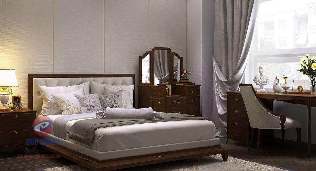 Giường ngủ sang trọng – M40