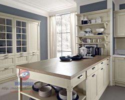 Tủ bếp cổ điển tinh tế - M20