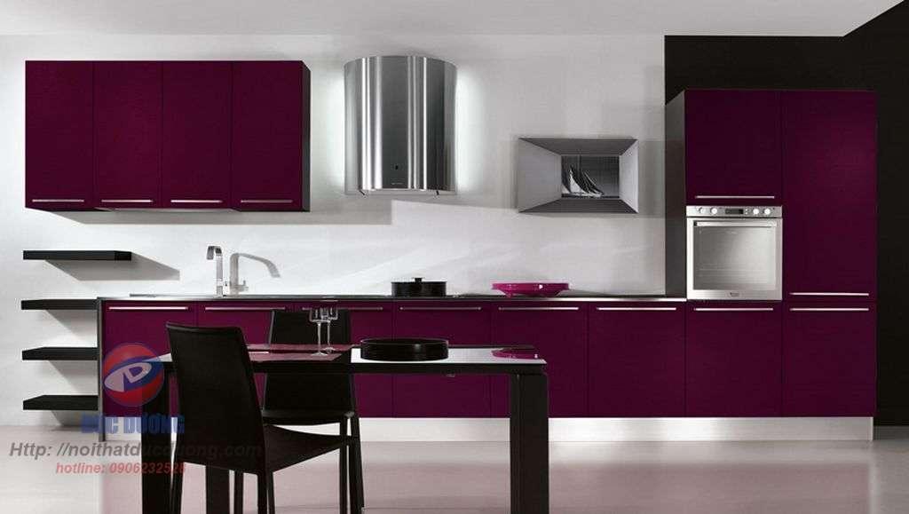 Những thiết kế tủ bếp màu đỏ đẹp nhất thế giới