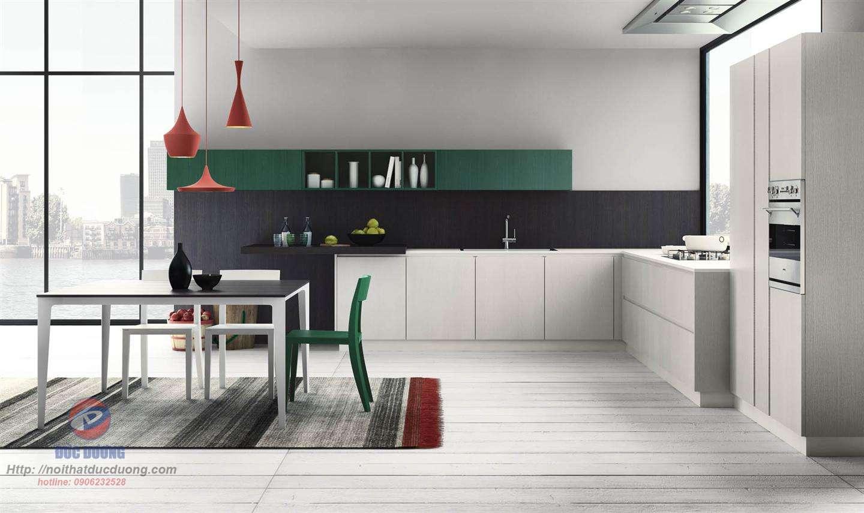 Tủ bếp tươi trẻ – M58