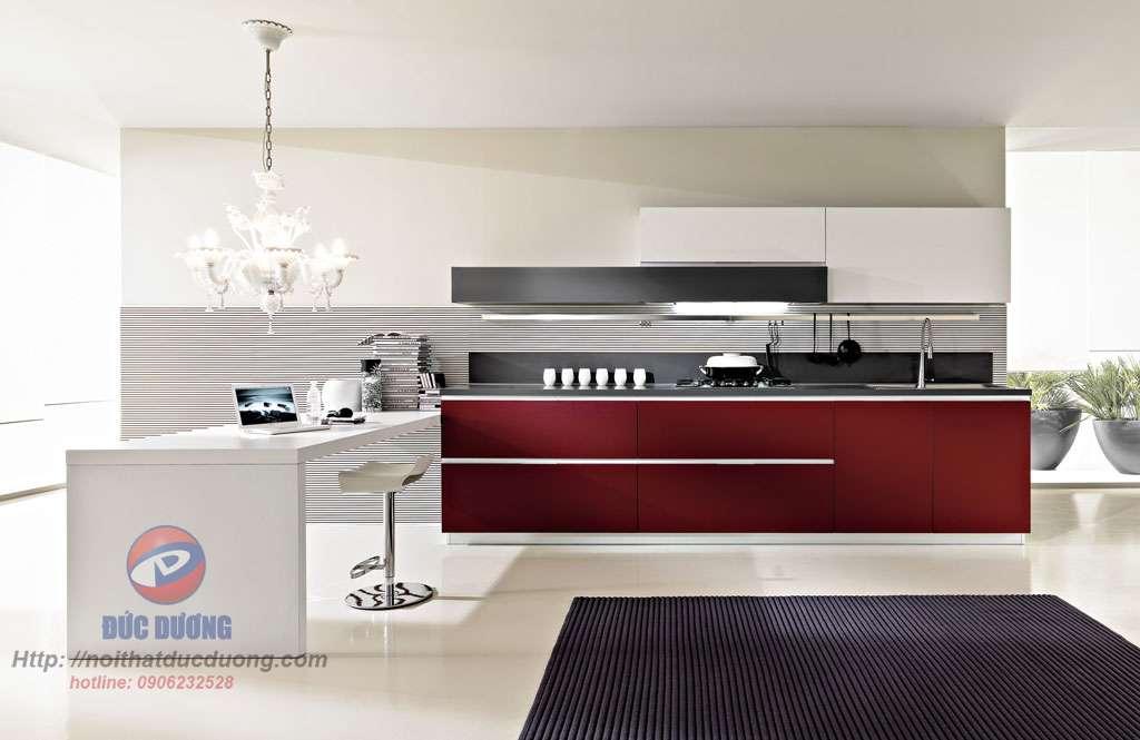 Tủ bếp hiện đại – M61