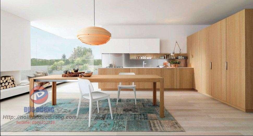Tủ bếp hiện đại – M60
