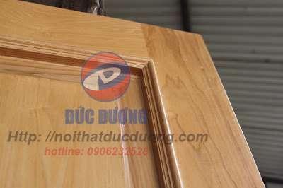 Cửa gỗ veneer pano ứng dụng công nghệ sản xuất hiện đại