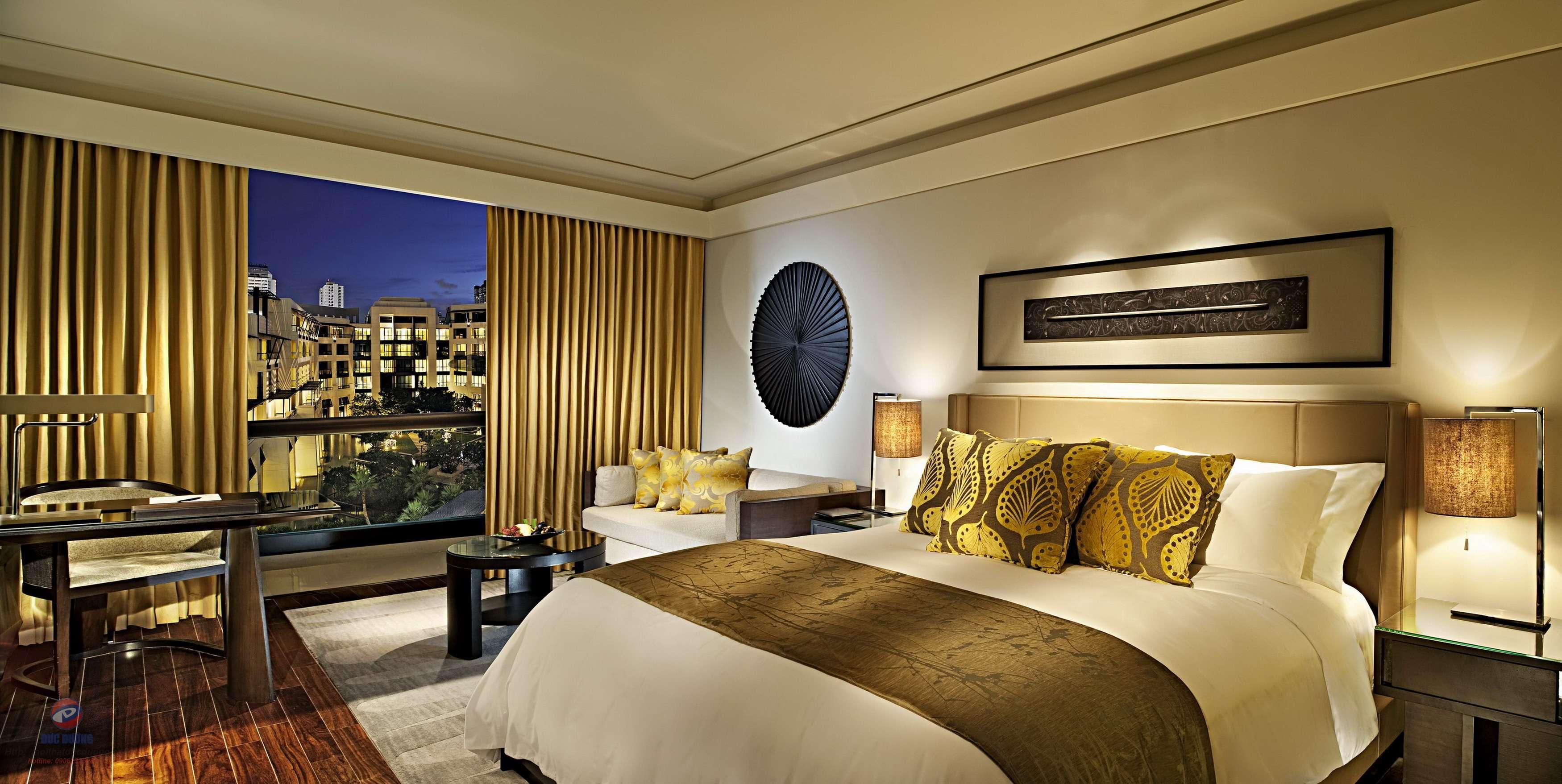 Nội thất khách sạn đẹp, sang trọng với thiết kế hiện đại