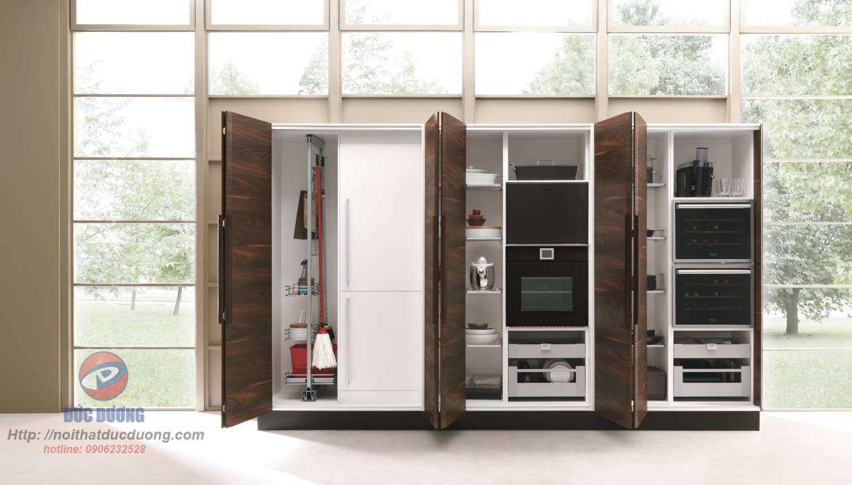 Tủ bếp Laminate màu trung tính dành cho 2018