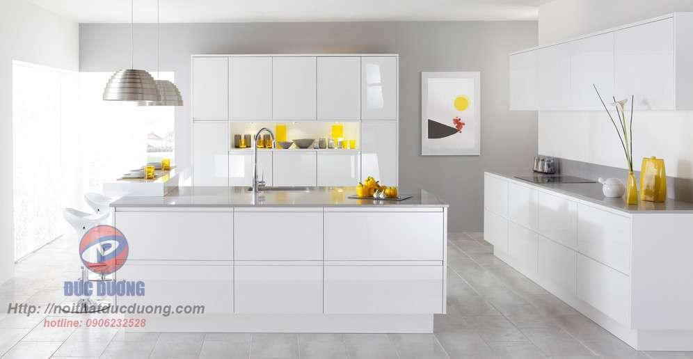 Tủ bếp hiện đại – M63