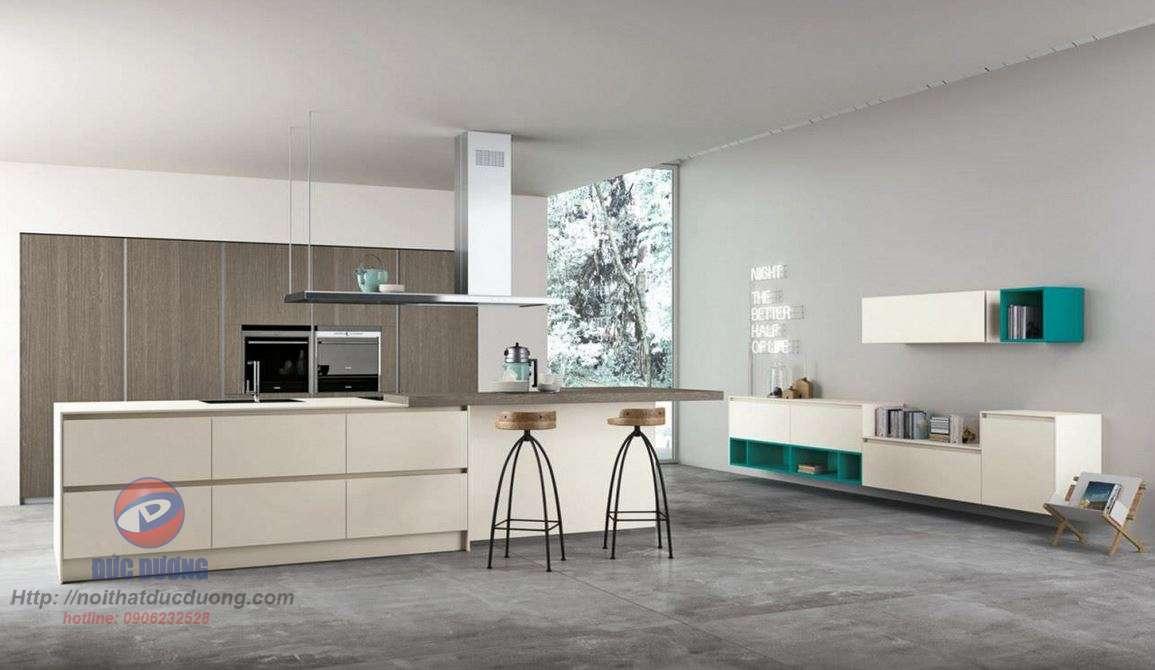 Tủ bếp hiện đại – M64