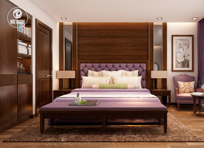Nội thất phòng ngủ khách sạn Sapa Paradise 4