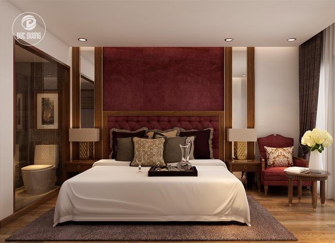 Nội thất phòng ngủ khách sạn Sapa Paradise 2