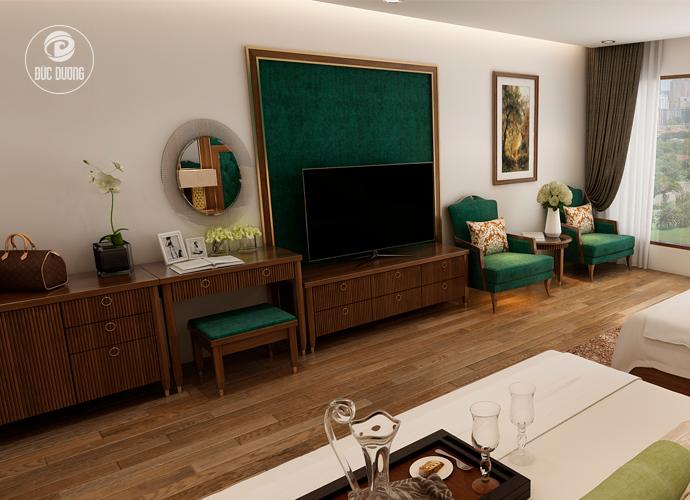 Nội thất phòng ngủ khách sạn Sapa Paradise 6