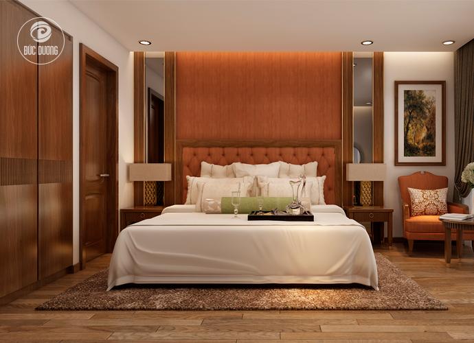 Nội thất phòng ngủ khách sạn Sapa Paradise 3