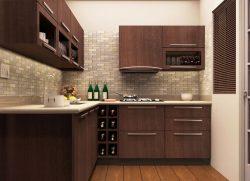 Thiết kế tủ bếp chữ L dành cho phong thủy nhà bếp tuổi Giáp Tý