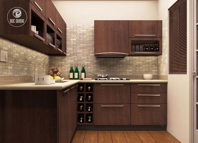 Tủ bếp phù hợp cho người tuổi Tỵ
